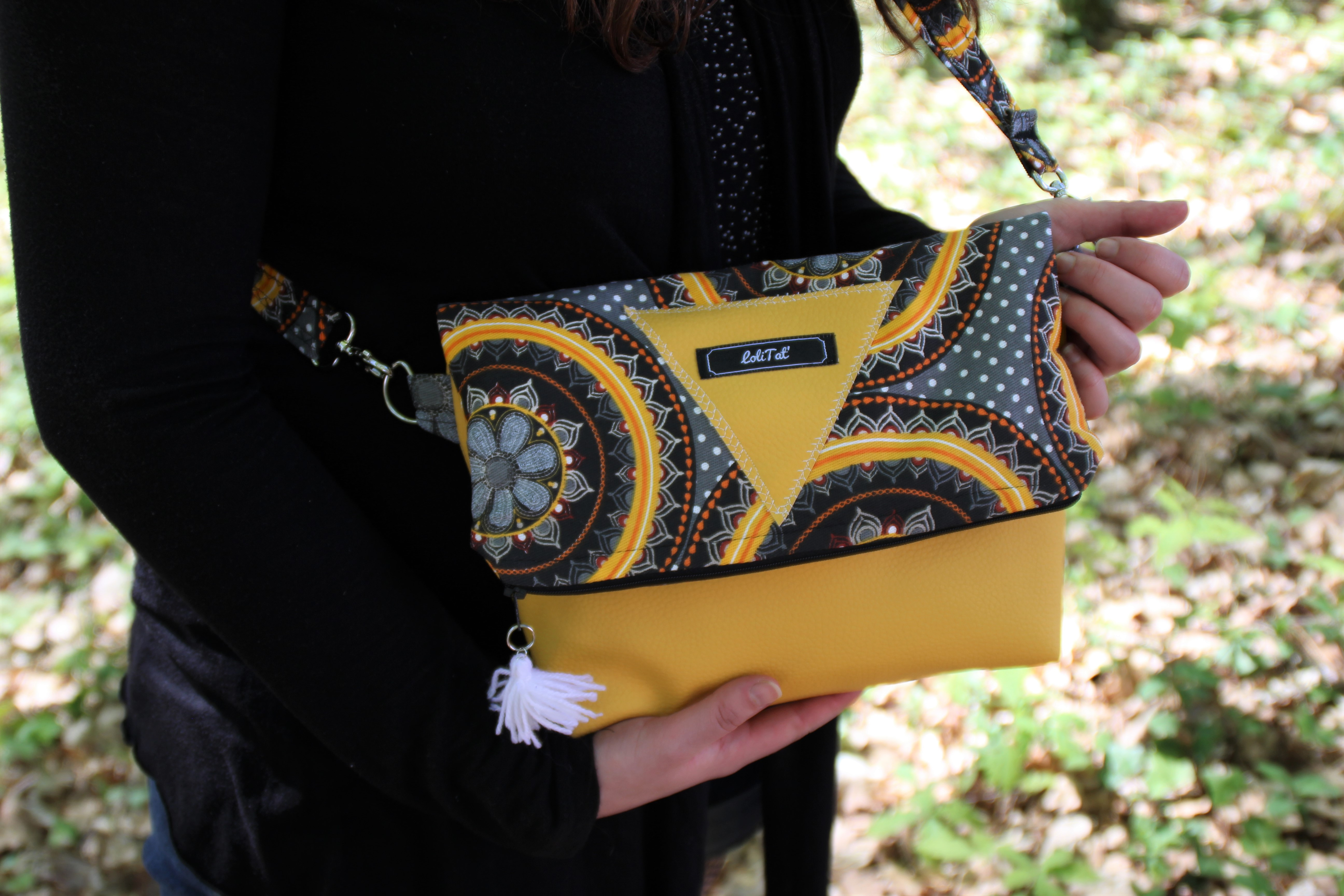 sac besace africain Lolitat' couture